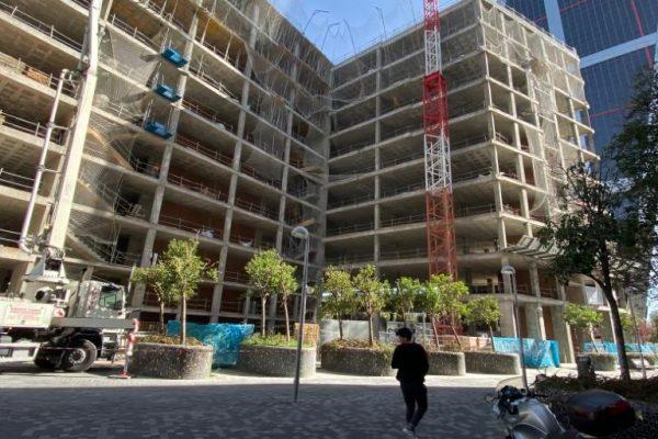 Obra centro Logístico Madrid